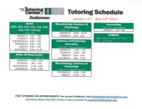 Anderson Ivy Tech Tutoring 17