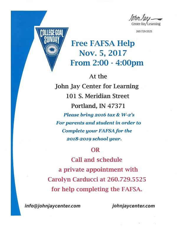 FREE FAFSA HELP!