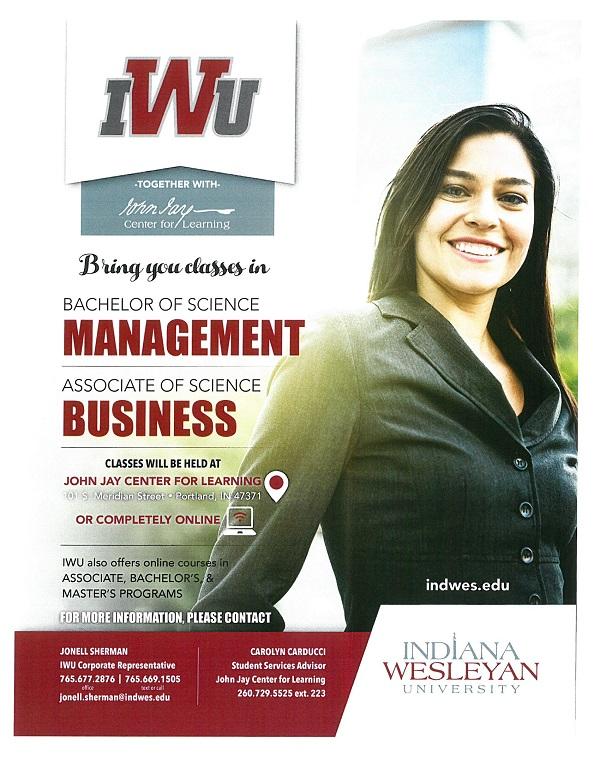 Indiana Wesleyan University New Classes