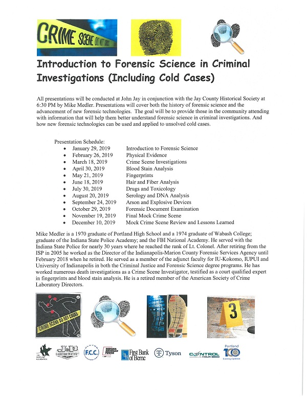 Introduction to Forensic Science in Criminal Investigations