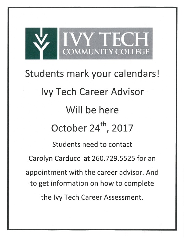 Ivy Tech Career Advisor