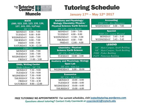Muncie Ivy Tech Tutoring 17