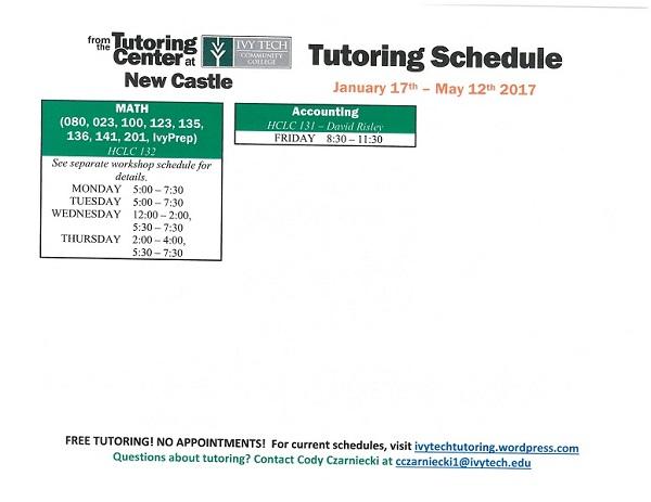 New Castle Ivy Tech Tutoring 17