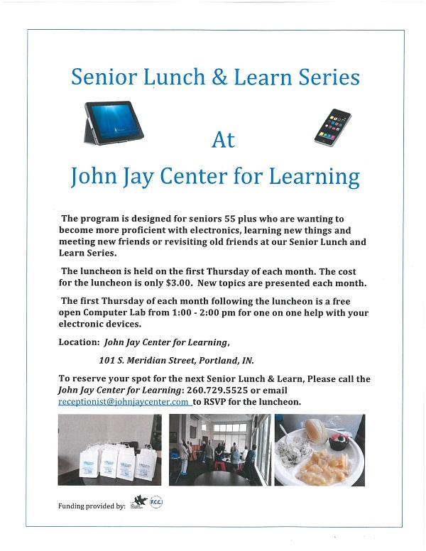 Senior Luncheon Series