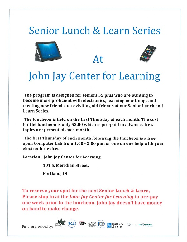 Senior Lunch & Learn Series
